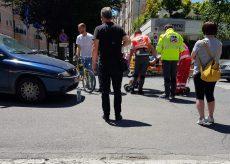 La Guida - Ciclista investito in corso Galileo Ferraris