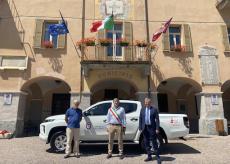 La Guida - La Lvia dona al comune di Valdieri un pick up