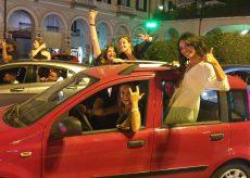 La Guida - Migliaia di cuneesi in piazza per festeggiare l'Italia alla finale