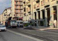 La Guida - Iniziati i lavori di asfaltatura in corso Nizza