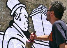 La Guida - Lo street artist Gec Art ha completato l'opera a Monforte d'Alba