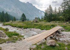 La Guida - Parco Alpi Marittime, lavori sui sentieri