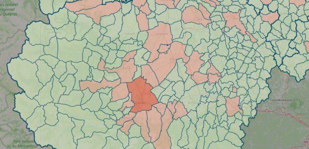 La Guida - La mappa del contagio: casi in 39 Comuni su 247