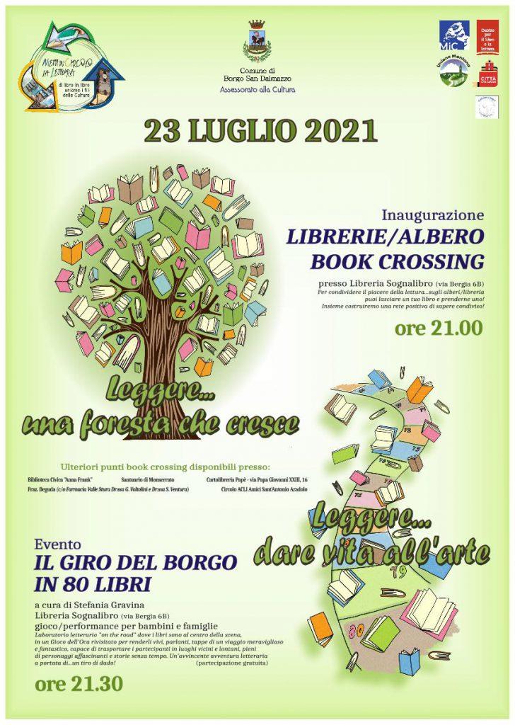 locandina book crossing