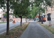 La Guida - Un tubo dell'acqua si rompe, viale Angeli ancora chiuso giovedì mattina
