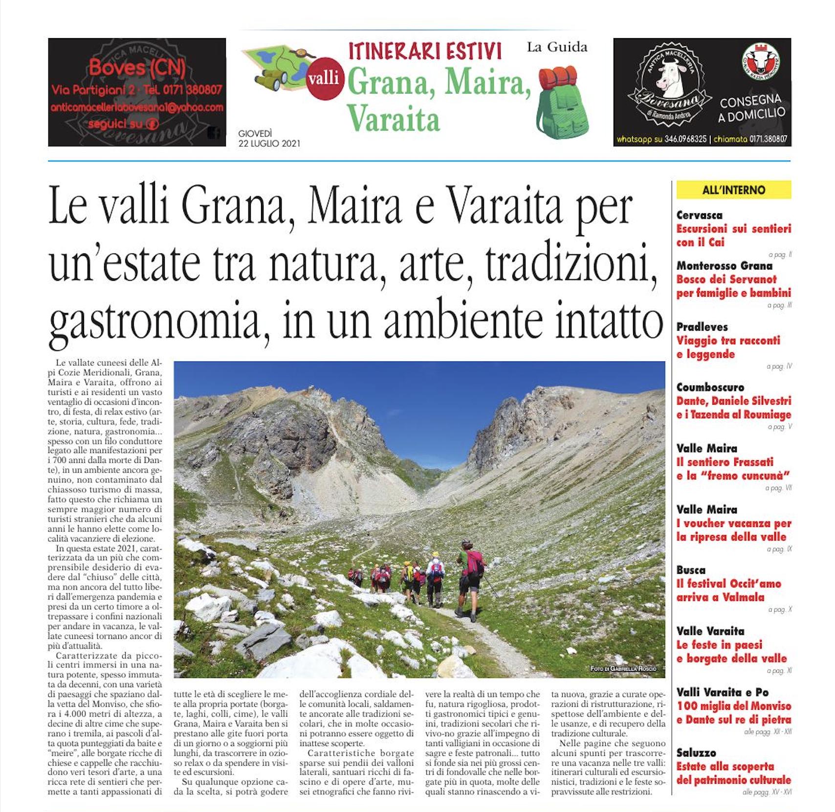 Speciale valli Grana, Maira, Varaita