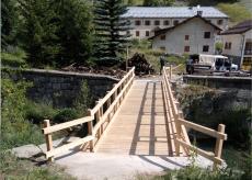 La Guida - Argentera, ultimati i lavori sul ponte