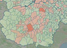 La Guida - La mappa del contagio: salgono a 63 i Comuni con casi attivi