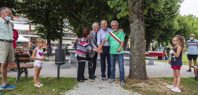 La Guida - A Sant'Albano si inaugura l'area picnic di Parco Olmi