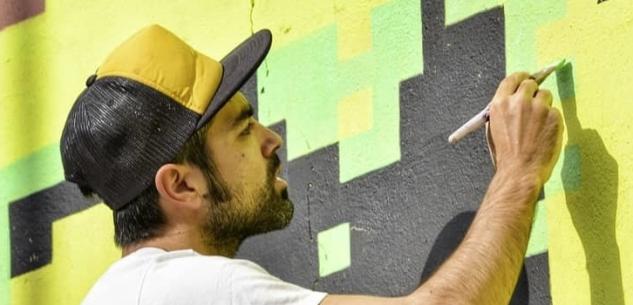 La Guida - Inaugurato a Moiola il murales di pixel art