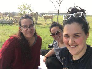 Giulia Berardo, Simona Chiari ed Elisa Rosso
