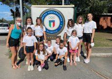 La Guida - Le ragazze della Cuneoginnastica in ritiro centro Coni di Tirrenia