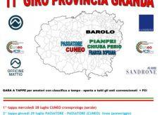 La Guida - Il Giro della Provincia Granda inizia oggi in piazza Galimberti e corso Nizza