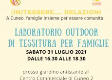La Guida - Cuneo, rinviato a causa del maltempo il laboratorio di tessitura per famiglie