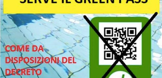 La Guida - Piscine, green pass solo per l'accesso negli impianti al coperto