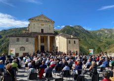 La Guida - Una giornata di sole su Castelmagno per la registrazione del concerto di Ferragosto