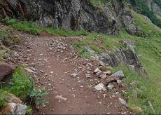 La Guida - Valle Gesso, ripristinati sentieri e passerelle
