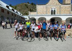 La Guida - In bici a Sant'Anna di Vinadio per festeggiare gli 87 anni