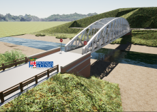 """La Guida - Intervento da 2 milioni di euro per mettere in sicurezza il ponte in ferro """"del Ciadel"""""""