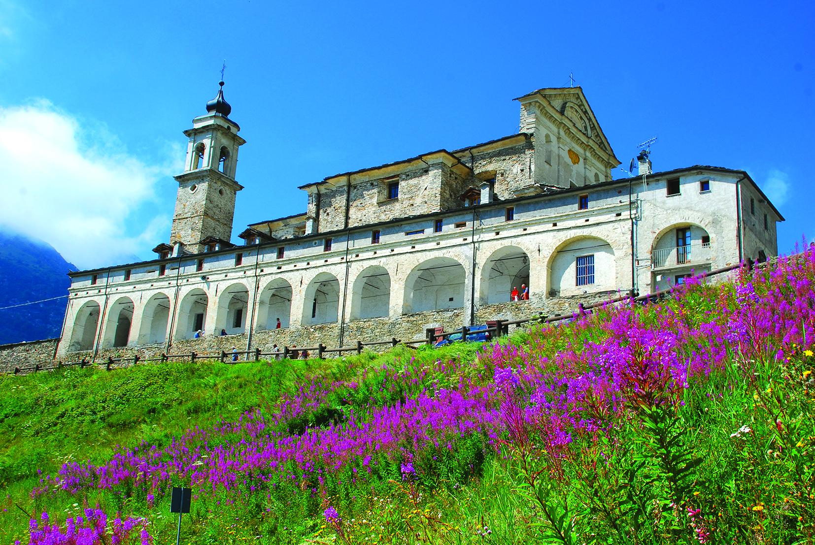 Valle Grana - Castelmagno - Santuario di San Magno