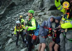 La Guida - Scout bloccati sul Granero portati in salvo