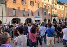 La Guida - Manifestazione contro i Green Pass a Savigliano