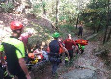 La Guida - Una escursionista infortunata soccorsa nella riserva dei Ciciu