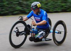 La Guida - Diego Colombari inizia i Giochi Paralimpici con il 4° posto nella cronometro