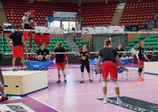 La Guida - Si allenano le ragazze del volley di A1 (video)