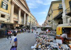 La Guida - Cuneo, mercato spostato da Piazza Galimberti a via Roma