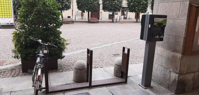 La Guida - Cuneo, sei nuove colonnine per ricaricare gratis le biciclette elettriche