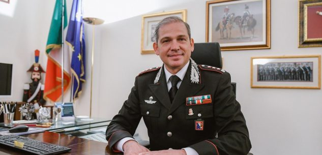 La Guida - Il colonnello Pasquale Del Gaudio lascia il comando dei Carabinieri di Cuneo