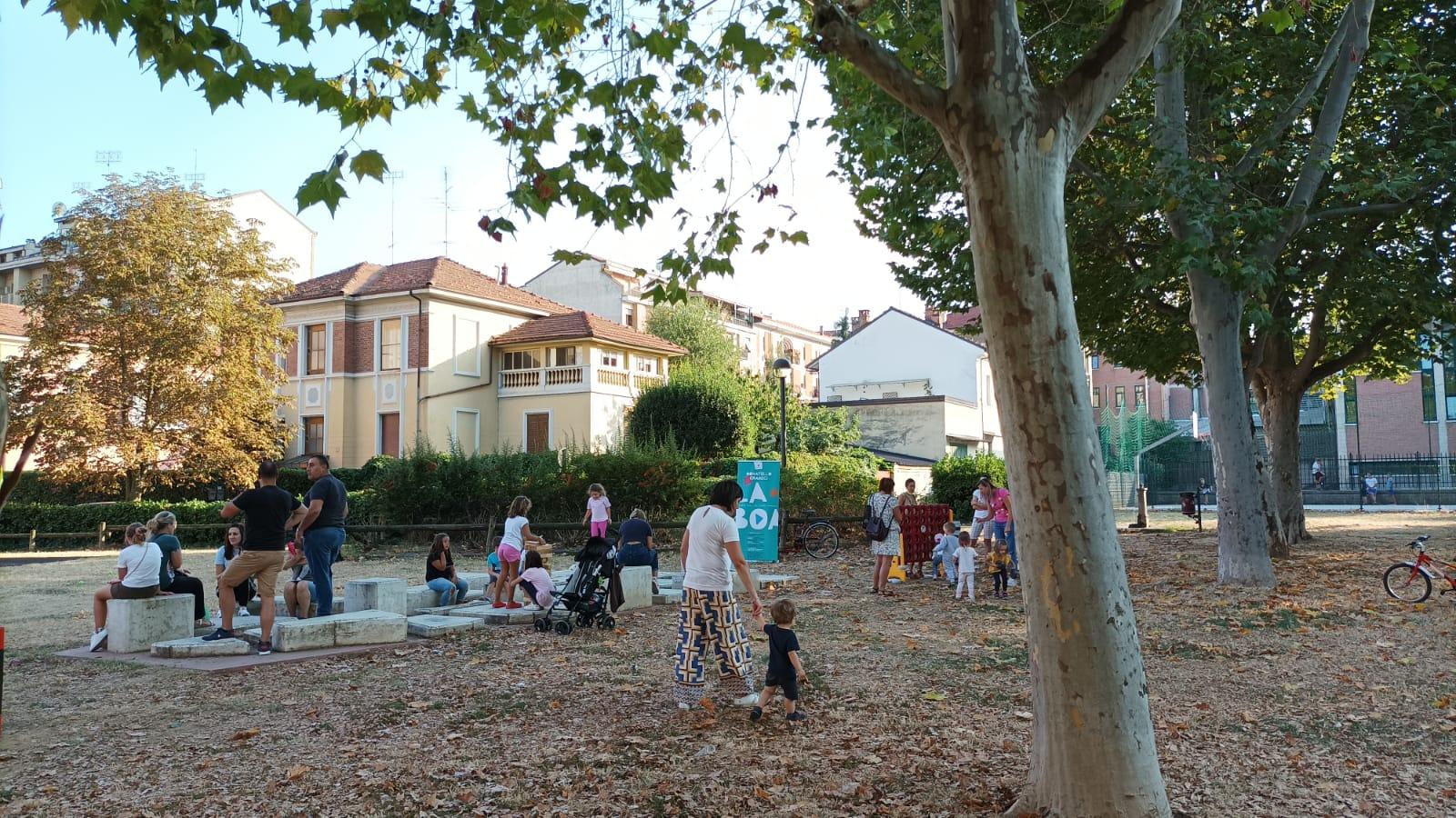 Cuneo - Grandi giochi al quartiere Gramsci