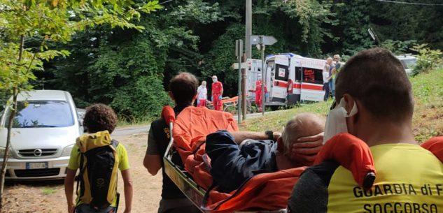La Guida - Cade mentre pulisce il bosco sulla collina di Monserrato, intervento del soccorso
