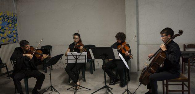 La Guida - Il Quartetto d'archi dell'Orchestra Bruni  in concerto al Donatello