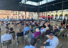 """La Guida - In piazza Virginio, l'Agorà democratica """"Cuneo la città del futuro"""""""
