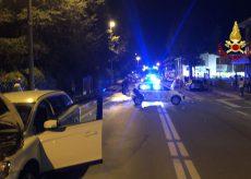 La Guida - Cinque feriti, quattro auto coinvolte e strada chiusa dopo uno scontro a San Rocco Castagnaretta