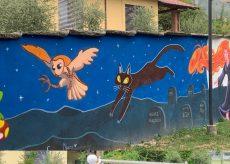 La Guida - Al parco giochi di Rifreddo un murale da 30 metri sulle streghe