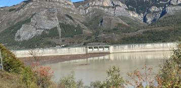 La Guida - Iniziati i lavori di controllo alla diga della Piastra a Entracque