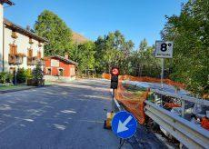 La Guida - Prolungato un altro mese il cantiere bloccato al tornante nr.8 di Limone