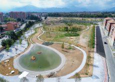 La Guida - Messi a dimora i 536 alberi del Parco Parri, si lavora per le aree sportive