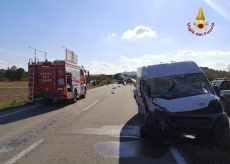 La Guida - Muore nello scontro tra due furgoni sulla tangenziale di Alba