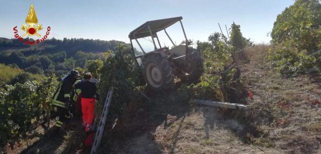 La Guida - Un ferito a Clavesana dopo un incidente sul trattore