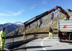 La Guida - Nuove barriere di sicurezza sulla provinciale del colle dell'Agnello