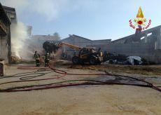 La Guida - Incendio in cascina a Centallo