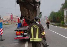 La Guida - Incidente a Mondovì, un ferito lieve