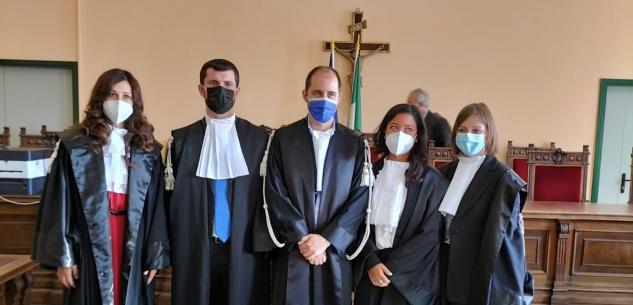 La Guida - Cinque nuovi magistrati in servizio al tribunale di Cuneo