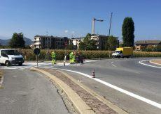 La Guida - Rifacimento strisce stradali a Confreria