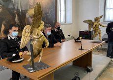 La Guida - Restituiti due angioletti rubati alla Chiesa cuneese (video)