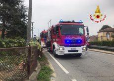 La Guida - Incendio in una cantina ad Alba, una persona soccorsa